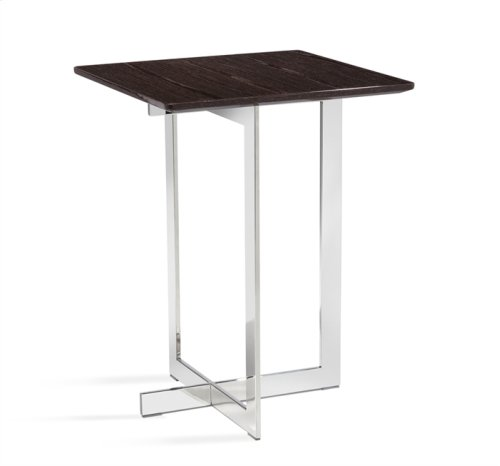 Riley Square Side Table - Smoked Grey Oak