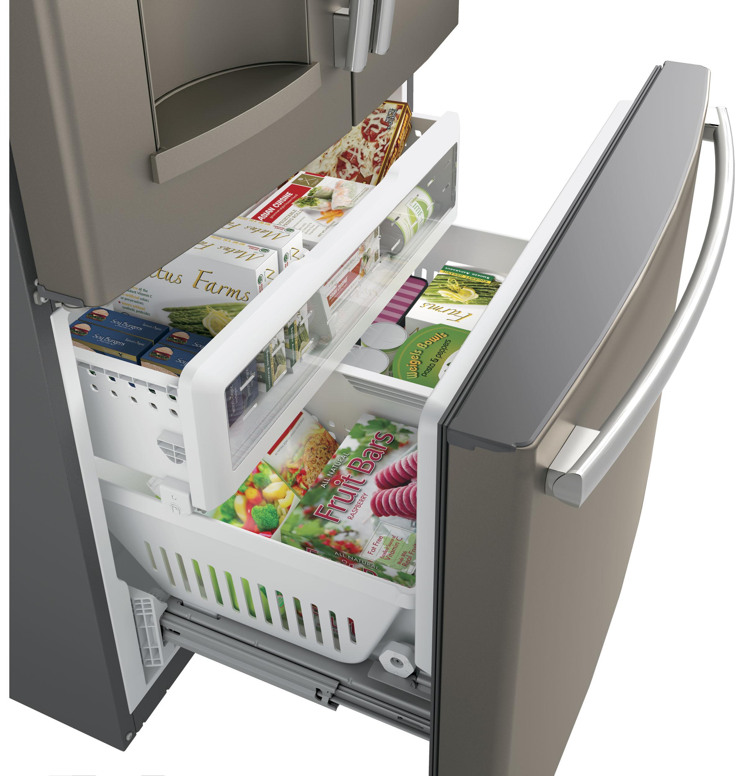 Gfs26gmnesge 174 25 8 Cu Ft French Door Refrigerator Slate