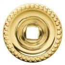 Polished Brass Knob Back Plate Product Image