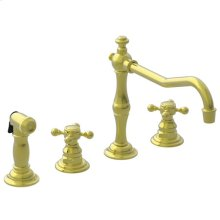 Forever Brass - PVD Kitchen Faucet with Side Spray