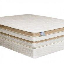 "Calking-size Zinnia 15"" Gel-infused Euro Pillow Top Mattress"