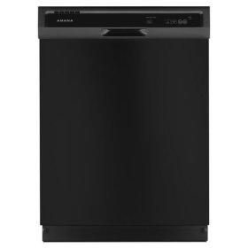 Amana® Dishwasher with Triple Filter Wash System - Black