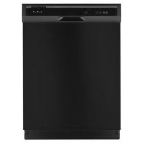Amana® Dishwasher with Triple Filter Wash System - Black