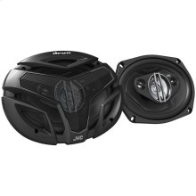 """drvn ZX Series Coaxial Speakers (6"""" x 9"""", 4 Way)"""