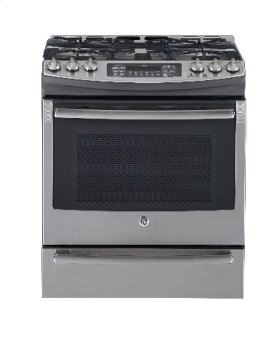 """30"""" Self-Cleaning Gas Convection Range with Bake/Warm/Storage Drawer"""