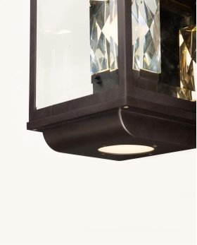 Mandeville LED 2-Light Outdoor Wall Lantern