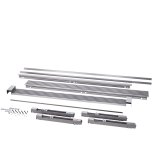 Electrolux79'' Louvered or 75'' Collar Dual Stainless Steel Trim Kit