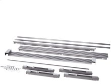 79'' Louvered or 75'' Collar Dual Stainless Steel Trim Kit