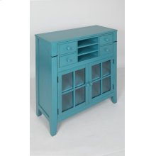 Avery Accent Desk- Seashore Blue