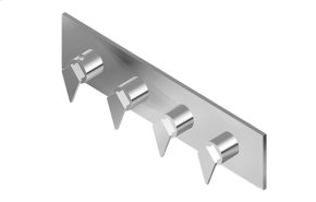 Stealth M-Series Valve Horizontal Trim with Four Handles
