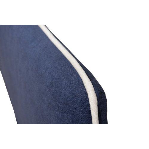 Emerald Home Full 4/6 Upholstered Headboard Navy Blue #602 B353-09hb-04