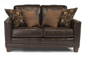 Port Royal Leather Loveseat
