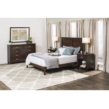SYO 2-Panel Headboard with Wood Frame, SYO 2-Panel Headboard with Wood Frame, Queen