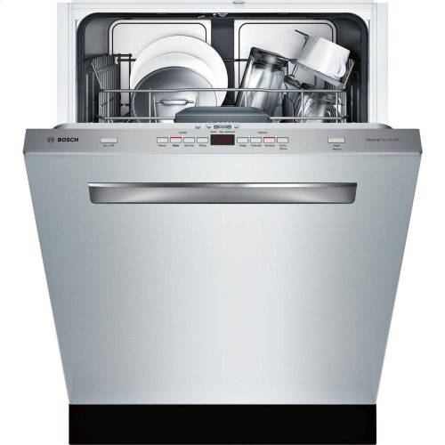 24' Flush Handle Dishwasher 300 Series- Stainless steel