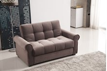 7576 Brown Loveseat *DISCONTINUED*