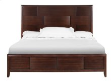 Complete Queen Island Bed with Storage Footboard