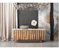 Astoria White Concrete Buffet Product Image