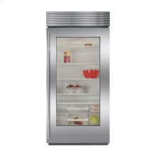 BI-36RG All Refrigerator with Glass Door - Overlay