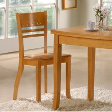"La Grange ""Natural"" Dining Side Chair, 17-3/4"" Seat Height - 2 pcs in 1 carton"
