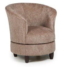 DYSIS Swivel Barrel Chair