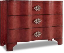 Melange Saffron Crackle Chest