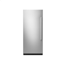 "36"" Built-In Column Refrigerator with NOIR Panel Kit, Left Swing"