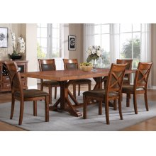 "Dining Table w/2- 13"" leaves"