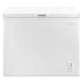 9.0 Cu. Ft. Compact Freezer with Flexible Installation - white