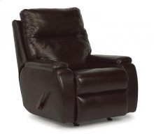 Runway Leather Rocking Recliner