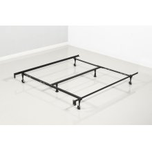 TWIN/FULL/Q BED FRAME WITH CENTER SUPPORT
