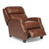 Pirouette Leather Power High-Leg Recliner Product Image