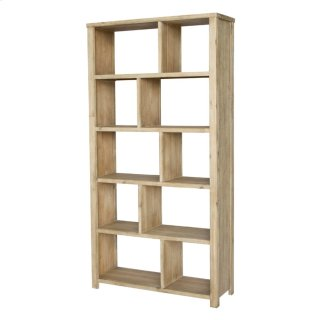 Bedford Bookcase, Brushed Smoke
