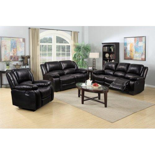 8026 Black Sofa