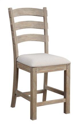 "Barstool 24"" Upholstered Seat Set Up"