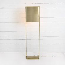 Antique Brass Finish Stratton Floor Lamp