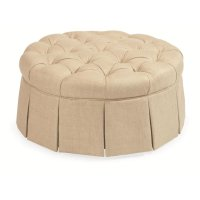Ivy Round Ottoman Product Image
