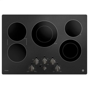 "GEGE Profile™ 30"" Built-In Knob Control Electric Cooktop"