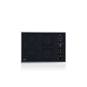 """Wolf30"""" Electric Cooktop - Framed"""