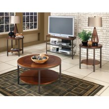 Trisha TV Stand Glass
