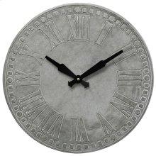 Metal Wall Clock  16in X 16in X 1in