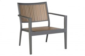Penelope Alum. / Polywood Lounge Chair