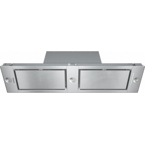 MieleDA 2628 Insert ventilation hood with energy-efficient LED lighting and backlit controls for easy use.