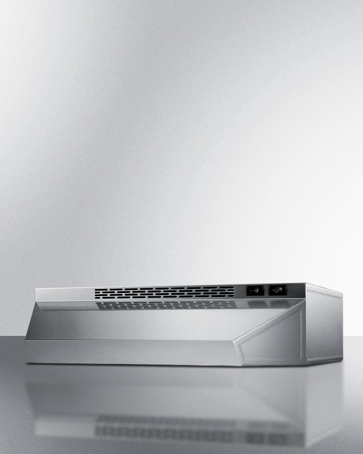 H1718ss Summit 18 Wide Ductless Range Hood In Stainless Steel