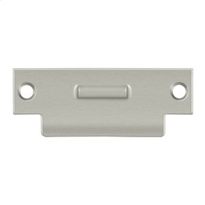 """T-Strike For RCA430, 4-7/8"""" x 1-7/8"""" - Brushed Nickel"""