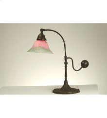 "19""H Counter Balance Pink and Green Accent Lamp"