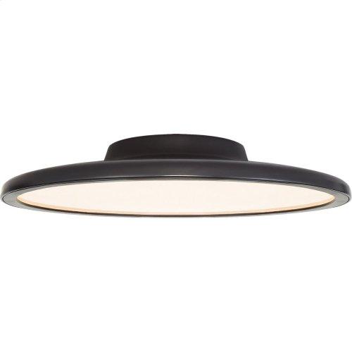 Visual Comfort PB4003MBK Peter Bristol Dot LED 17 inch Matte Black Flush Mount Ceiling Light