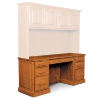 "Classic Computer Credenza, Classic Computer Credenza, 72"" Product Image"