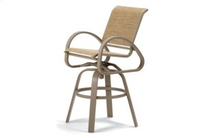 Bar Height Swivel Cafe Chair