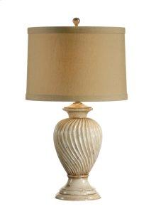 Swirled Urn Lamp