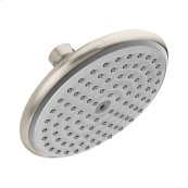 Brushed Nickel Raindance E 150 AIR 1-Jet Showerhead, 2.0 GPM